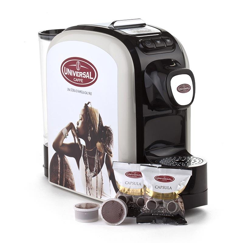 Macchina caffè a capsule con Brand thumb