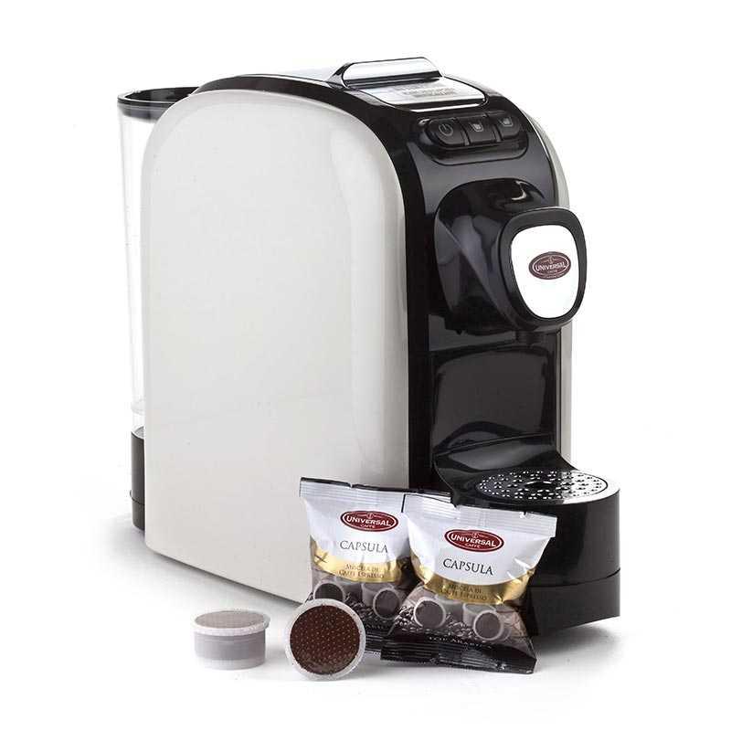 Macchina da caffè a capsule Universal Star Vista laterale