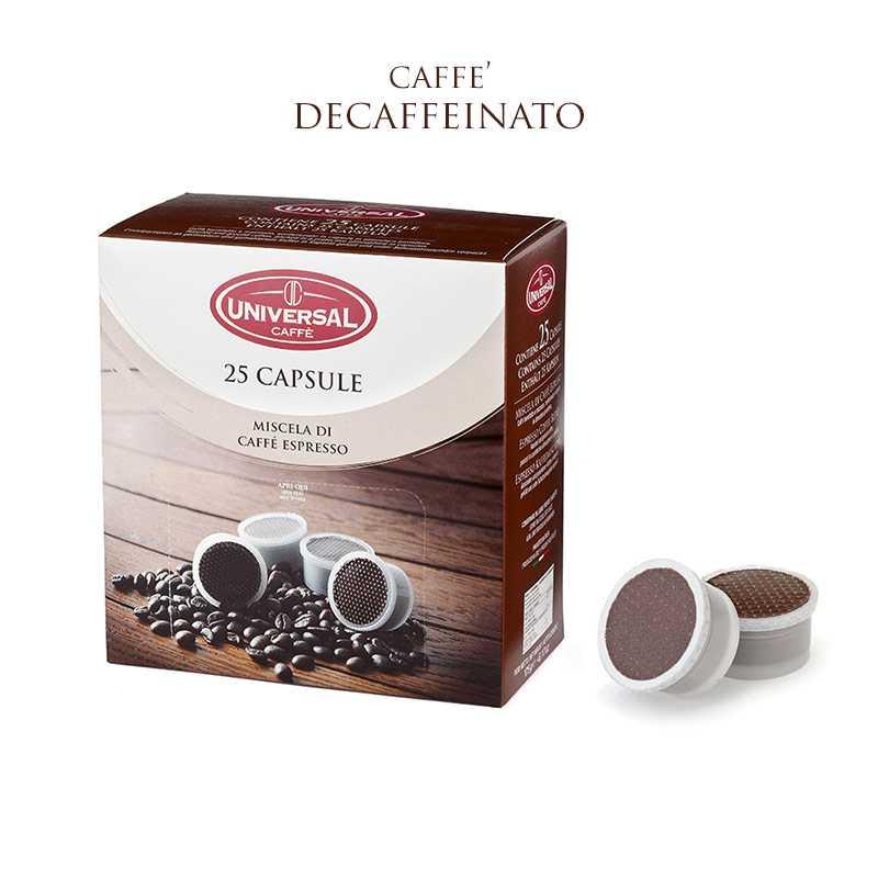 Box Caffè in Capsule F.A.P. Decaffeinato, Compatibili*
