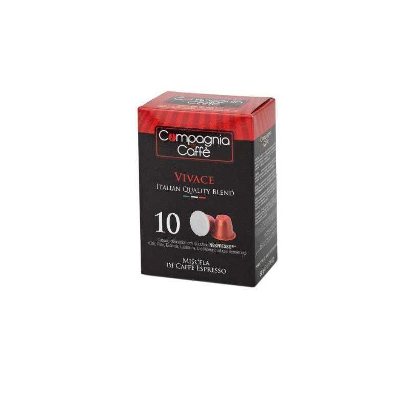 Capsule Comp. Nespresso Capsula VIVACE compatibile Nespresso